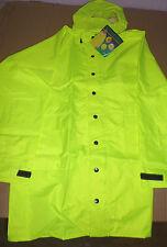 MSA Breathable 3/4 Jacket  Raincoat colour Hi Visibility Lime Size S