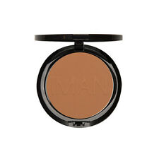 Iman Second to None Pressed Powder, Luxury Pressed Powder Clay Medium Dark