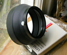 orginal vivitar series 1 70-210  clamp on 70mm  lens hood  for  70-210mm f3.5