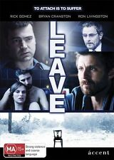 Leave DVD Bryan Cranston Ron Livingston Vinessa Shaw Rick Gomez Robert Celestino