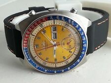 VINTAGE MEN'S SEIKO CHRONOGRAPH AUTOMATIC DAY & DATE WRIST WATCH N-3