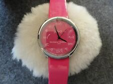 """Math"" Quartz Ladies Watch - Pink with a Pink Band"