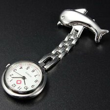 Hot Nurse Clip-on Fob Pin Brooch Pendant Quartz Hanging Pocket Watch