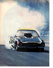 1973 CHEVROLET CAMARO FUNNY CAR DRAG RACING ~ NICE MAGAZINE PICTURE / PHOTO / AD