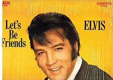 CANADA NM PICKWICK CAS-2408  ROCK LP ELVIS PRESLEY : LET'S BE FRIENDS