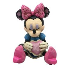 Disney Traditions 4054285 Minnie Mouse with Heart Mini Figurine