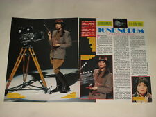 Tone Norum Cynthia Rhodes Animotion Richard Marx clippings Sweden Swedish 1980s