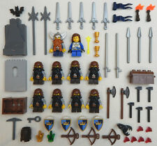 10 NEW LEGO CASTLE DWARF MINERS MINIFIG LOT figures minifigures people dwarves
