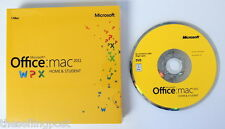 Microsoft Office MAC 2011 Home & Student 1/Mac - COA and DVD included - NIB
