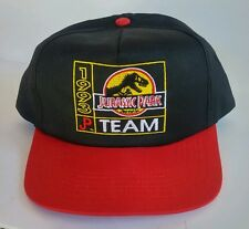 Vintage Team JURASSIC PARK 1993 McDonalds Unreleased Promo Cap Hat Black NEW!