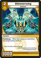 Kaijudo X3 SHIMMERWING Common #11/110 7CLA (Playset) Clash of the Duel Masters