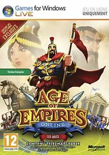 20645 //AGE OF EMPIRES ONLINE ON LINE PC NEUF SOUS BLISTER