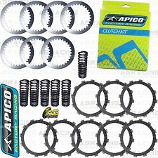 Apico Clutch Kit Steel Friction Plates & Springs For Yamaha WR 450F 2009 Enduro