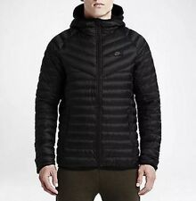 NEW NIKE NSW Down Fill Guild Hooded Jacket Black 822860-010 ($250) Men's Large