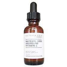 Matrixyl 3000 30% Argireline Vitamin C 20% Serum Hyaluronic Acid Anti-Aging 1oz