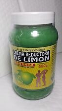 LEMON CREAM 18 OZ CREMA REDUCTORA DE LIMON 500 GR NEW  MADE IN MEXICO