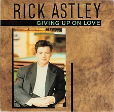 ASTLEY, Rick  (Giving Up On Love)  RCA 8872-7 + Picture Sleeve