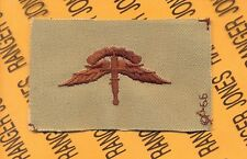 US Army Airborne Military Freefall MFF wing cloth Desert DCU patch