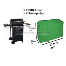 Waterproof BBQ Cover Outdoor Garden Barbecue Grill Protector 124x61x91cm