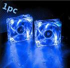 80mm 2V Fans 4 LED Blue for Computer PC Case Cooling + Graphics card fan IG