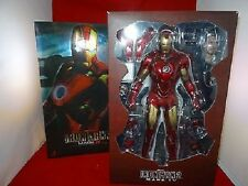 1/6 Iron Man Mark Iv Iron Man 2 Movie Masterpiece Hot Toys Used