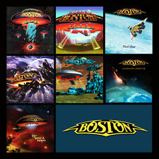 "BOSTON album discography magnet (3.5"" x 3.5"") journey styx foreigner kansas"