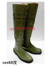 Devil May Cry Vergil Cosplay Halloween Boots shoes S008