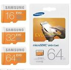 Real Capacity Samsung Evo Micro SD SDHC SDXC 48MB/s Class 10 With Free Adapter