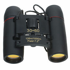 NEW GENUINE SAKURA BINOCULARS 30x60 MINI COMPACT DAY NIGHT VISION TELESCOPE GIFT