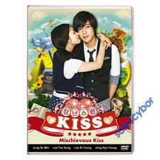 """BUY 5 GET 1 Free""  Mischievous Kiss/ Playful Kiss Korean Drama (4DVDs) GOOD_ENG"