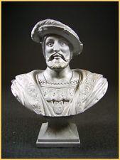 Buste de François Ier roi de france (LE CIMIER signé Ch. Conrad sculpteur)