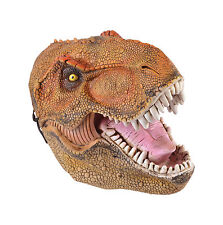 T Rex Tyranosaurus Dinosaur PVC Overhead Mask Fancy Dress Prop