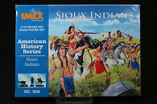 YU074 IMEX 1/72 maquette figurine 508 American History Series Sioux Indians