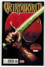 WEIRDWORLD #1-6 COMPLETE MINI-SERIES - MIKE DEL MUNDO ART & COVERS - MARVEL/2015
