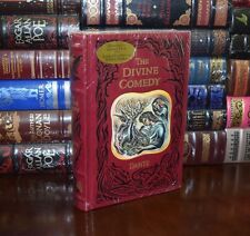 Dante's Divine Comedy Brand New Sealed Leatherbound Collectible 1st Ed