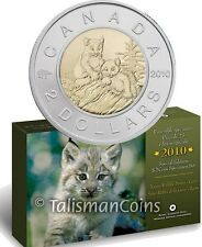 Canada 2010 Lynx Kittens Baby Animals Special Edition 7 Coin Specimen Set $2