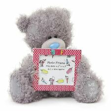 "Me to You - 7"" BFF Plush & Photo Frame Gift - Tatty Teddy Bear"