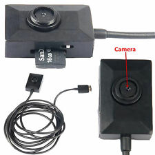 2m USB Cable HD 960P Spy Button Camera Mini Covert Pinhole Video Recorder DVR