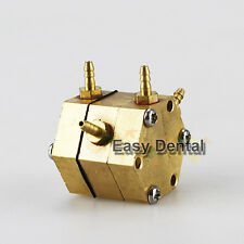 2pcs Dental Hexagonal Water Air Valve for Dental Oral Chair Unit Parts Device
