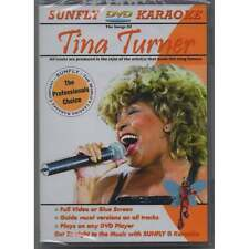 Music Factory Karaoke DVD Tina Turner - Full Video / Blue Options - All Region