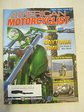 March 2007 American Motorcyclist Magazine, It's Daytona Time (BD-32)