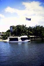 35mm Colour Slide- Houseboat  - Gold Coast  - Qld  1980's