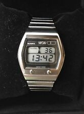 Like NEW Rare Seiko  A031 Vintage Digital Lcd Lc Japan Top Condition