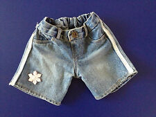 Build  A Bear~ BABW Denim Bling Shorts