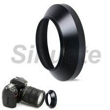 55mm Lens Hood Screw Mount Metal Wide Angle for Nikon Canon Sony Pentax Olympus