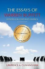 The Essays of Warren Buffett: Lessons for Corporate America, Fourth Edition Lawr