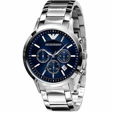 NEW Emporio Armani AR2448 EA MEN'S CHRONOGRAPH DIAL WATCH - From USA