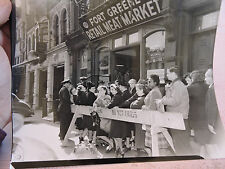 1946 FORT GREENE #174 FtG. Place Brooklyn Meat BUTCHER  PHOTO New York City NYC
