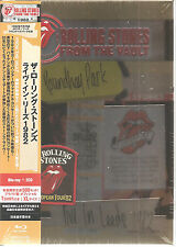 ROLLING STONES From The Vault Live In Leeds 1982 BLU-RAY 2CD + SHIRT Japan Box