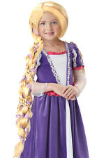 Rapunzel Tangled Child Costume Wig  - Braided Long Blonde